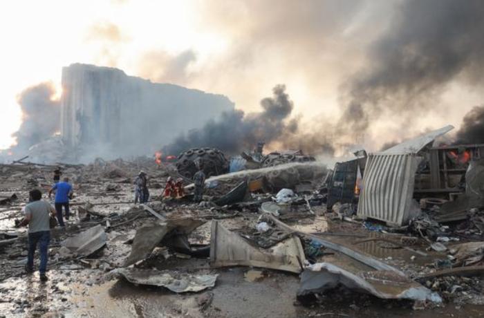 Beyrutda baş verən partlayışda ölənlərin sayı 100-ü keçdi - YENİLƏNİB