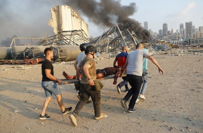 Beyrutda partlayışda ölənlərin sayı 63-ə çatıb, 3 mindən çox yaralı var - VİDEO - YENİLƏNİB