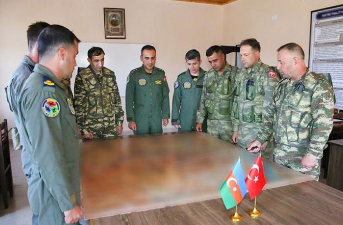 Naxçıvanda keçirilən Azərbaycan-Türkiyə birgə genişmiqyaslı təlimləri davam edir - VİDEO