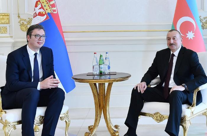 Azərbaycan və Serbiya prezidentləri arasında telefon danışığı olub