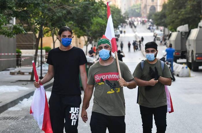 Beyrutda etirazçılar XİN-in binasını tutub