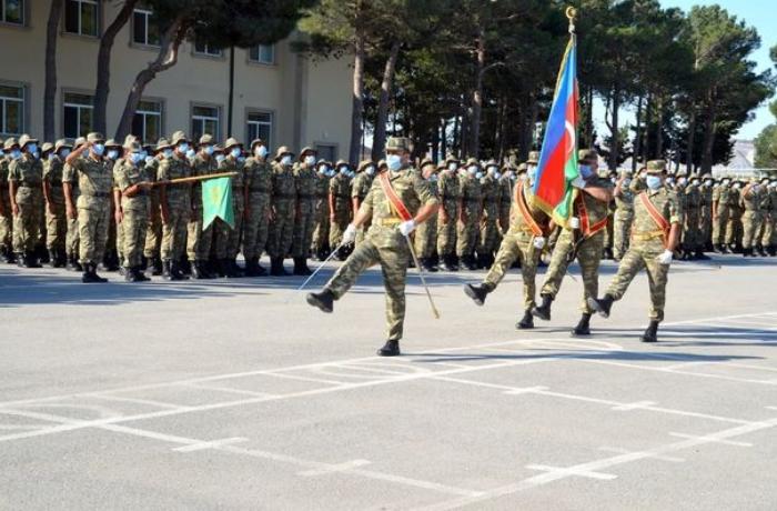 Azərbaycan Ordusunda andiçmə mərasimi keçirildi - FOTOLAR