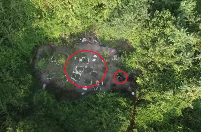 Azərbaycan polisinin dronla çəkilmiş xüsusi əməliyyatı - VİDEO