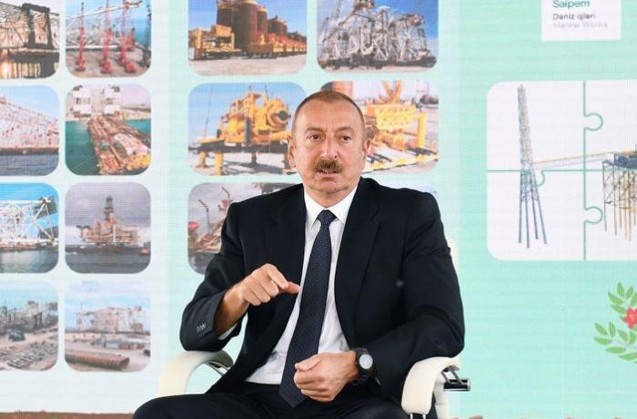 """Prezident: """"Azərbaycan xalqı mənimlə tam razıdır"""""""