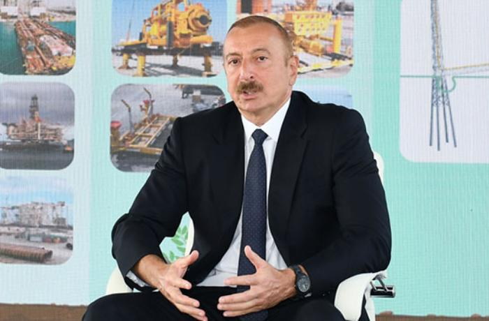 Prezidentin Azərbaycan telekanallarına müsahibəsi – VİDEO