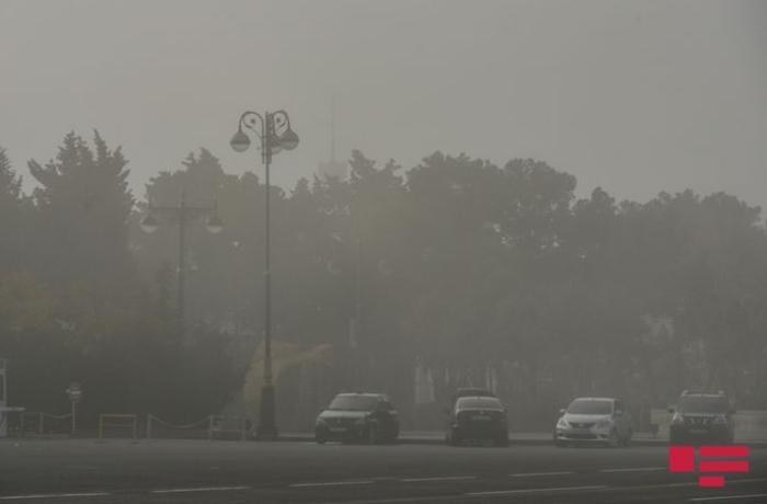 Bakı şəhəri və Abşeron yarımadasında havada tozun miqdarı artıb