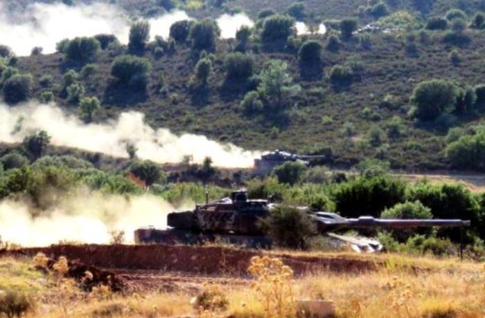 Yunanıstan və ABŞ qüvvələri Türkiyə sərhədinə yaxın yerdə hərbi təlim keçdilər - FOTO