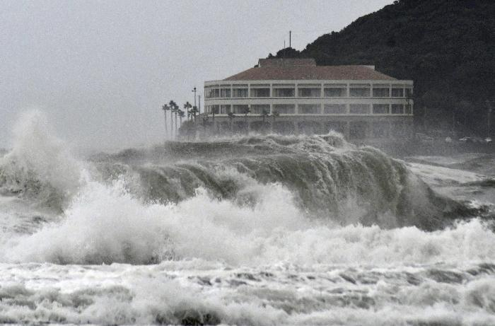Yaponiyada tropik fırtına xəbərdarlığı