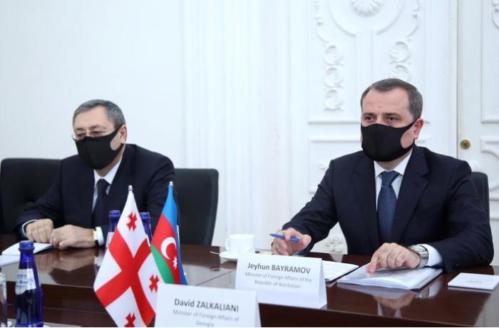 Ceyhun Bayramov Gürcüstanın baş naziri ilə görüşdü