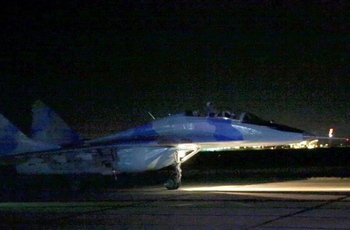 Azərbaycanın Hərbi Hava Qüvvələri gecə təlimləri keçirdi – VİDEO