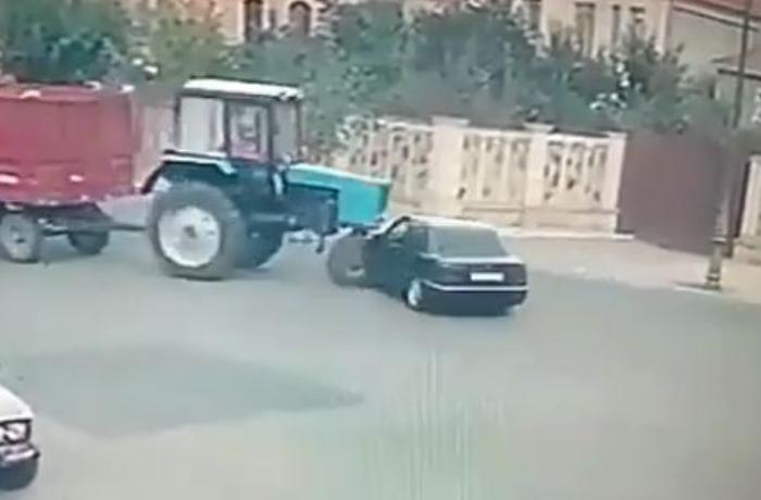 Azərbaycanda ölümlə nəticələnən ağır qəzanın baş verdiyi an – VİDEO