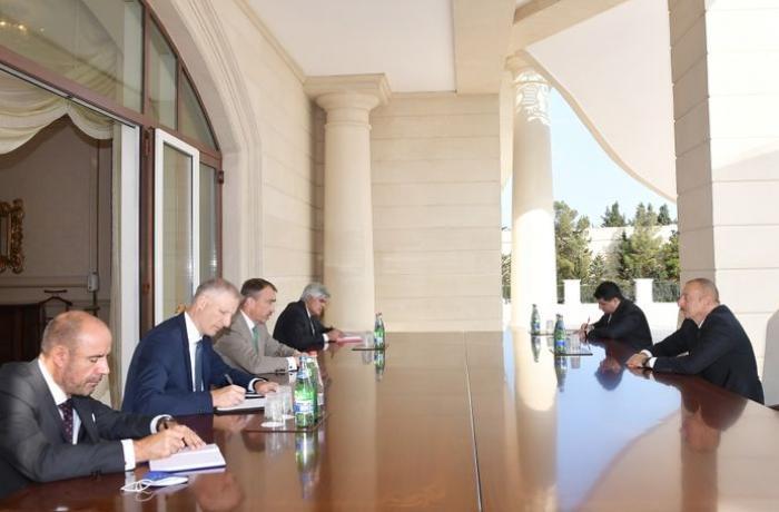 Prezident Avropa İttifaqının Cənubi Qafqaz üzrə xüsusi nümayəndəsini qəbul edib – YENİLƏNİB