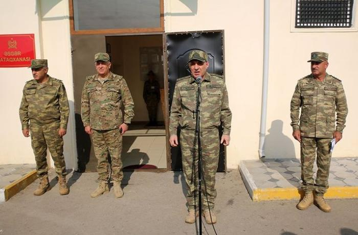 Azerbaijan's Prosecutor General and the Military Prosecutor visit military units in the frontline zone