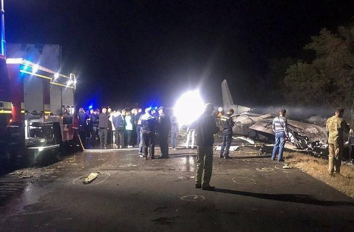 One of two survivors in Ukrainian military plane's crash dies