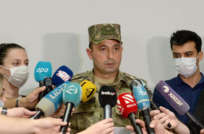 Müdafiə Nazirliyi brifinq keçirdi - VİDEO