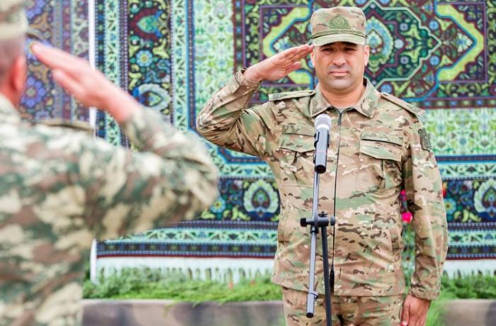"""General-mayor Bərxudarov: """"Düşməni sona qədər məhv etmək uğrunda vuruşacağıq"""" – FOTO"""