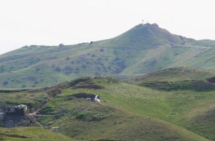 Düşmən işğalından azad olunan Talış yüksəkliklərindən ilk görüntülər - VİDEO