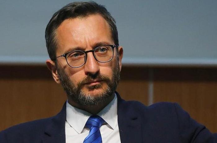 """Fahrettin Altun: """"Türkiyə Ermənistanın təyyarəsini vurmayıb"""""""