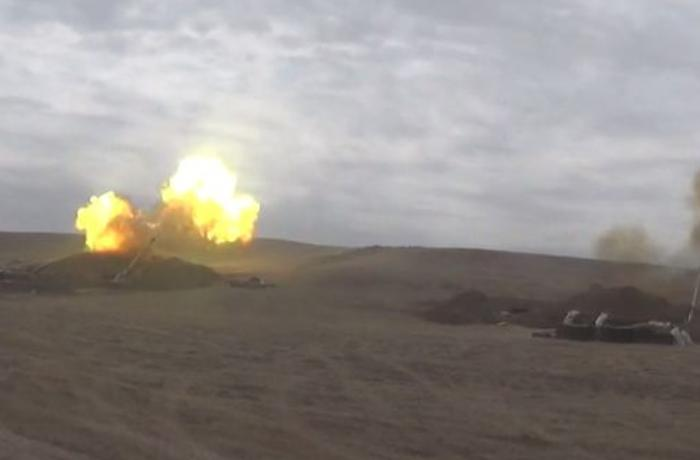 Azerbaijani MoD: Artillery units inflict crushing blow on the enemy - VIDEO