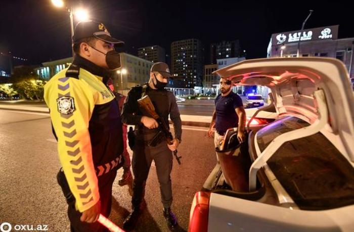 Baş Polis İdarəsindən komendant saatı ilə bağlı əhaliyə MÜRACİƏT