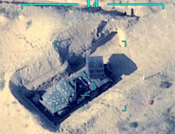 Video recording of enemy military equipment destroyed in the morning - VIDEO