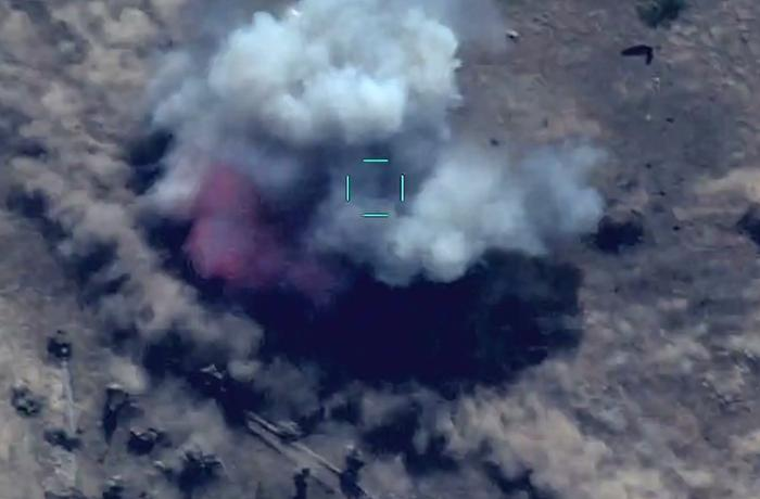 Enemy reserve forces were destroyed – VİDEO