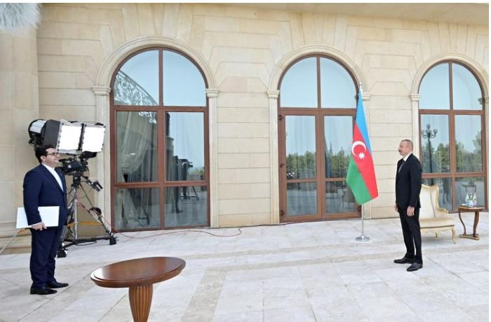 President Ilham Aliyev receives credentials of incoming Iranian ambassador