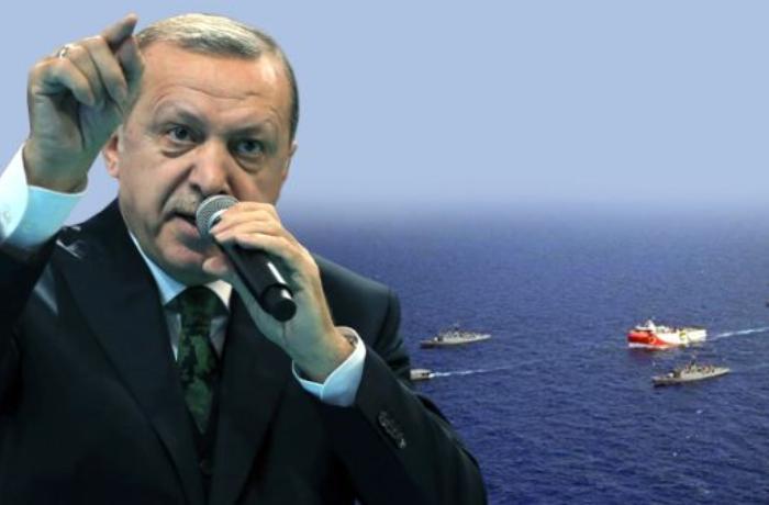 Ərdoğan döyüş gəmilərinə təlimat verdi: