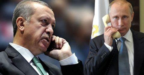Ərdoğan və Putin Dağlıq Qarabağ məsələsini müzakirə ediblər