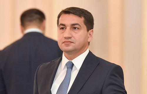 """Hikmət Hacıyev: """"Vaşinqtonda keçiriləcək görüşlərdə hər hansı bir irəliləyiş gözləmirik"""""""