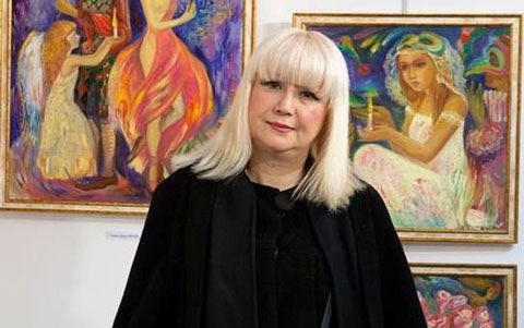Азербайджанская художница готовится покорить Россию