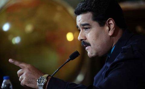 Maduro istefa şərtini açıqladı