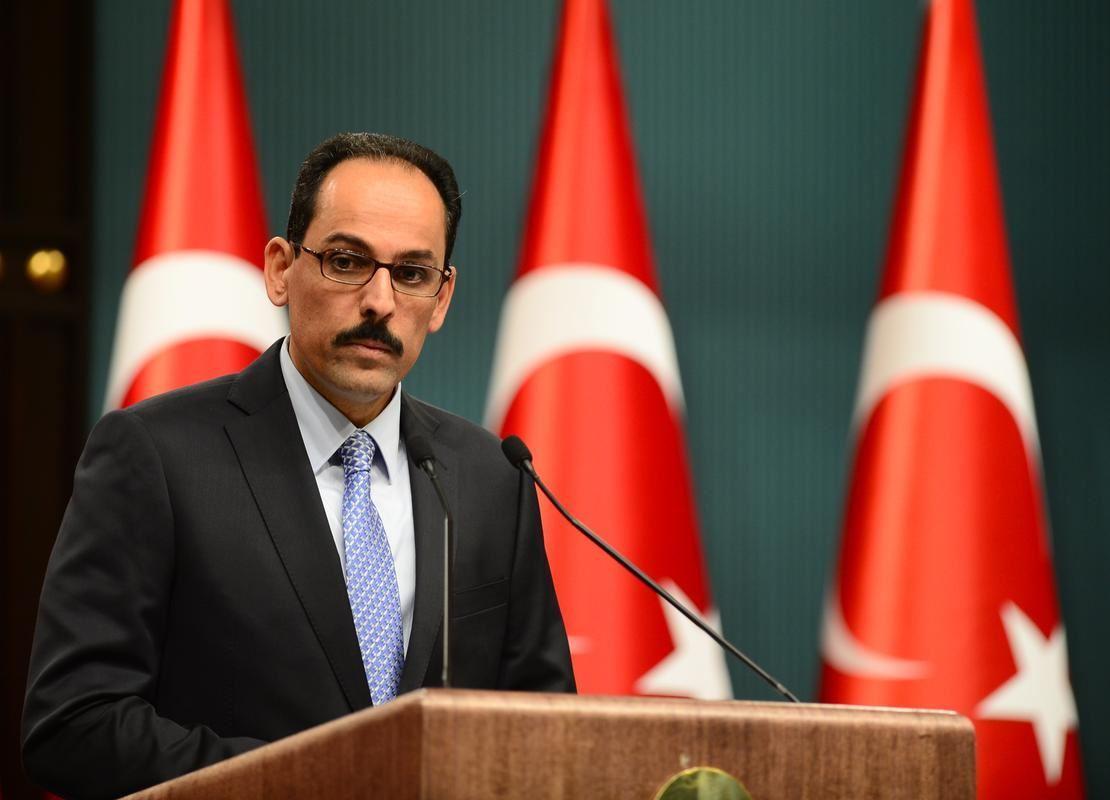 """Türkiyə prezidentinin sözçüsü: """"Ermənistanda baş verən çevriliş cəhdini qınayırıq"""""""