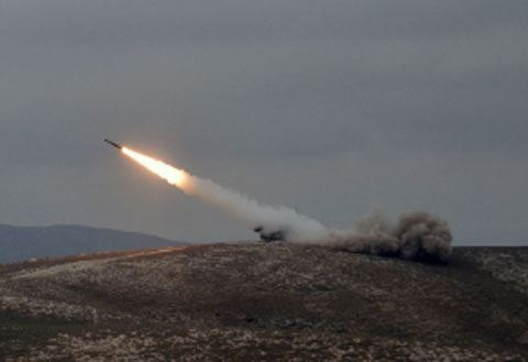 MoD: Another operational-tactical ballistic rocket missile of Armenian armed forces was destroyed with accurate fire