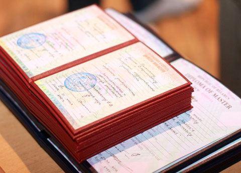 Ötən ay ərzində tanınmayan diplomların sayı açıqlandı