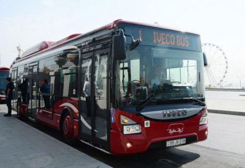 Hərbi Qənimətlər Parkına bu marşrut avtobusları gedir - BNA açıqladı