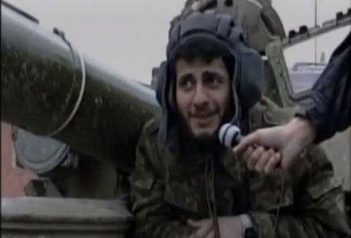"""Düşməndən qənimət kimi götürülən tanka """"Albert"""" adı verilib – FOTO"""