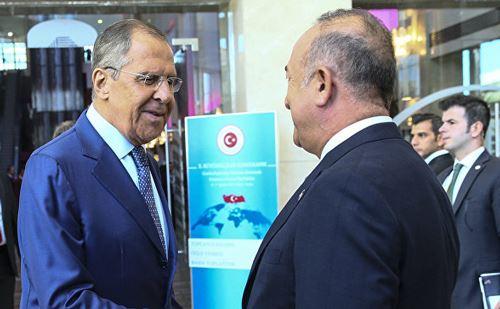 Çavuşoğlu və Lavrov Dağlıq Qarabağ münaqişəsini müzakirə ediblər