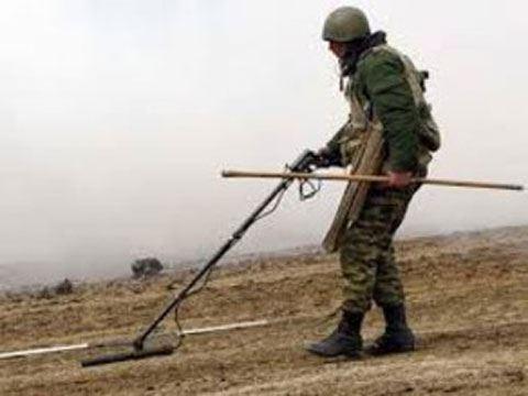 Dağlıq Qarabağda 260 hektardan çox ərazi minalardan təmizlənib – Rusiya MN