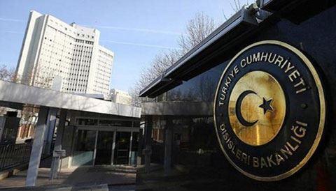 Türkiyə XİN Bərdənin atəşə tutulması ilə bağlı bəyanat yayıb