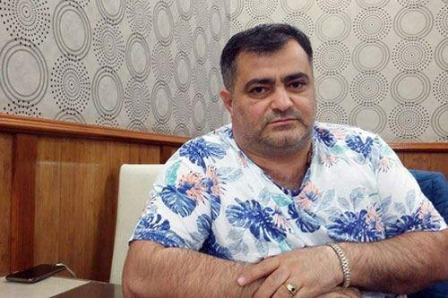 Maqsud Mahmudov Ukraynada tutularaq  -