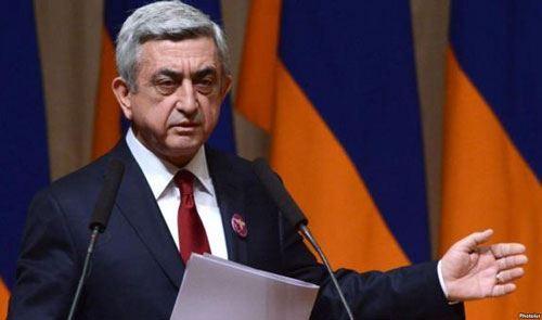 """Serj Sarkisyan: """"Ermənistanın 1064 hərbçisi itkin düşüb"""""""