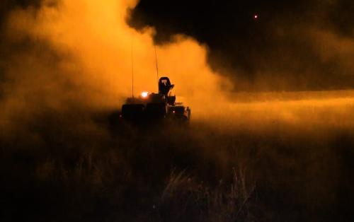 Кадры нанесения удара по армянскому ЗРК - ВИДЕО