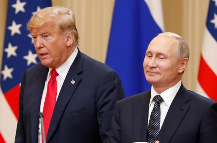 "Trump: ""I got along great with President Putin, I liked him, he liked me"""