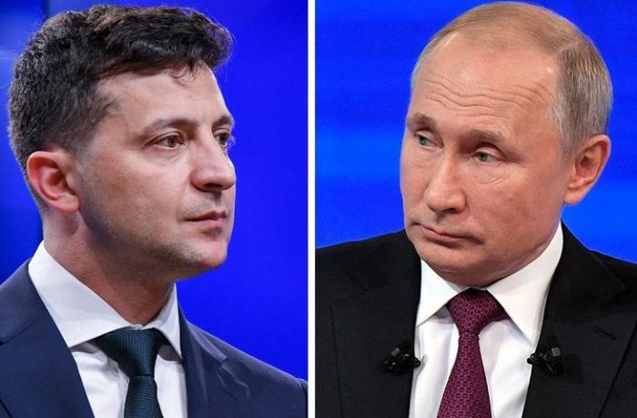 Putin Zelenskinin Donbasda görüş təklifinə cavab verdi