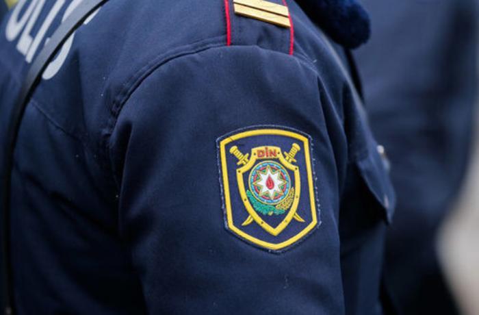 Goranboyda polis əməkdaşlarına qarşı zor tətbiq edilib