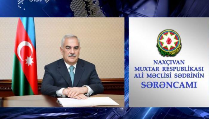 Babək Rayon İcra Hakimiyyəti başçısına birinci müavin təyin edildi