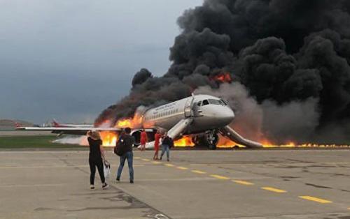 Rusya'da yolcu uçağı alev aldı: Ölü sayısı 41'e yükseldi