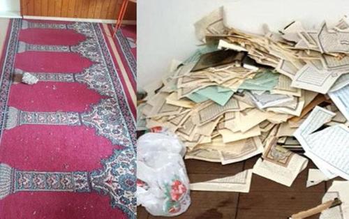 Almanya'da camilere çirkin saldırı!