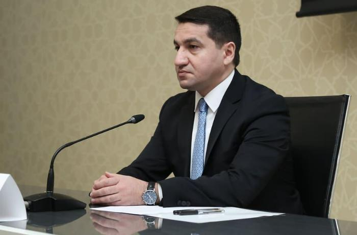 """""""Ermənistan Bərdədə mülki şəxslərə qarşı """"Smerç"""" raketindən istifad edib"""" - Prezidentin köməkçisi"""
